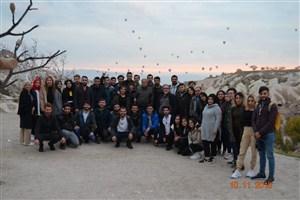 Turizm bölümü öğrencileri ve öğretim elemanlarının Kapadokya gezisi