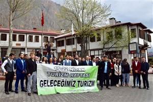 Turizm Haftası coşkuyla kutlanmaya devam ediyor
