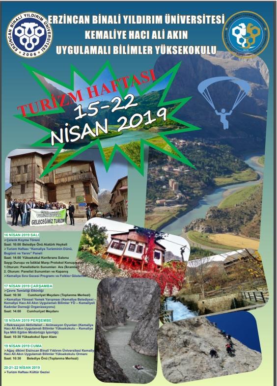 15-22 Nisan Turizm Haftası Etkinlikleri Coşkuyla Kutlanıyor